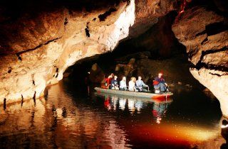 Les grottes de Marble Arch - Ulster, Irlande