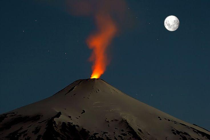Resultado de imagen para imagenes del del volcan villarrica chile