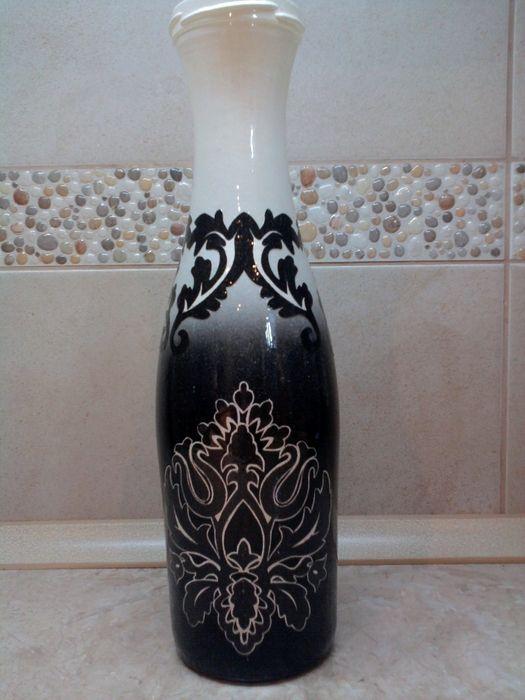 И снова бутылки-вазы от Марины toydaizi. Обсуждение на LiveInternet - Российский Сервис Онлайн-Дневников