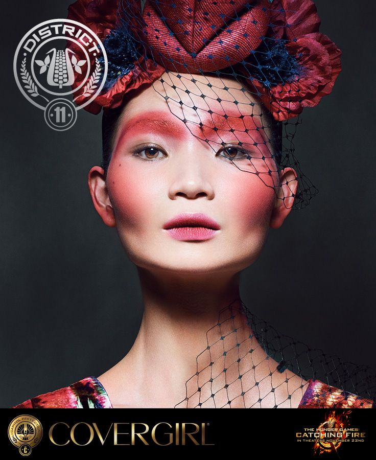 DISTRICT 11  AGRICULTURE Explore COVERGIRL's District 11 look, inspired by The Hunger Games: Catching Fire   the NEW Capitol Makeup Collection.