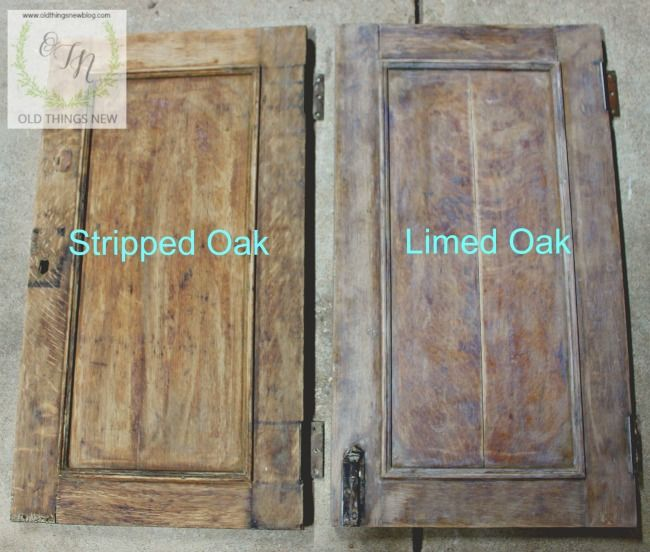 Before And After Limed Oak Oak Furniture Painting Oak