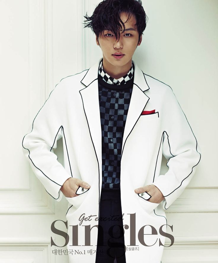 byun yohan for singles magazine february issue 2015