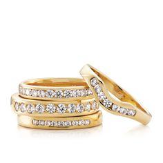 Ladies Wedding Rings #PeterWBeck