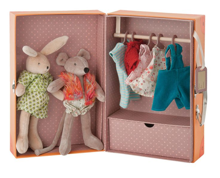The Bunny & Mouse Little Wardrobe