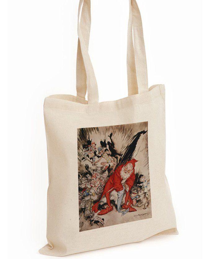 Tote Bag: Arthur Rackham's Christmas