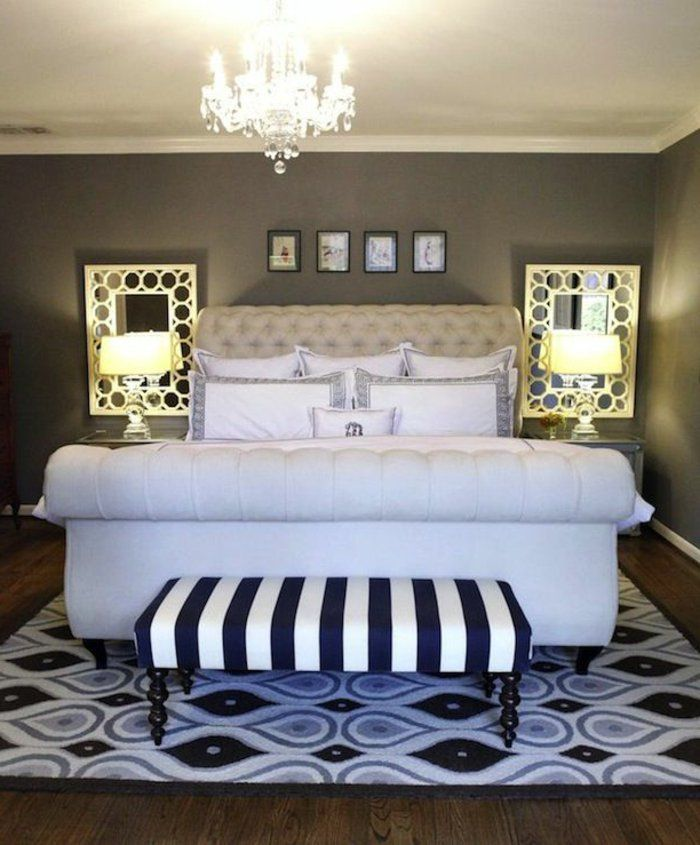 17 meilleures id es propos de lit capitonn sur - Tete de lit capitone ...