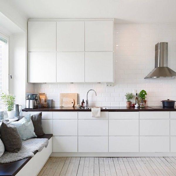 Mer enn 25 bra ideer om Küchenzeile ikea på Pinterest Küchendeko - komplett küchen ikea