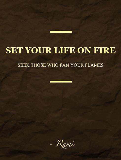 Rumi citerar -
