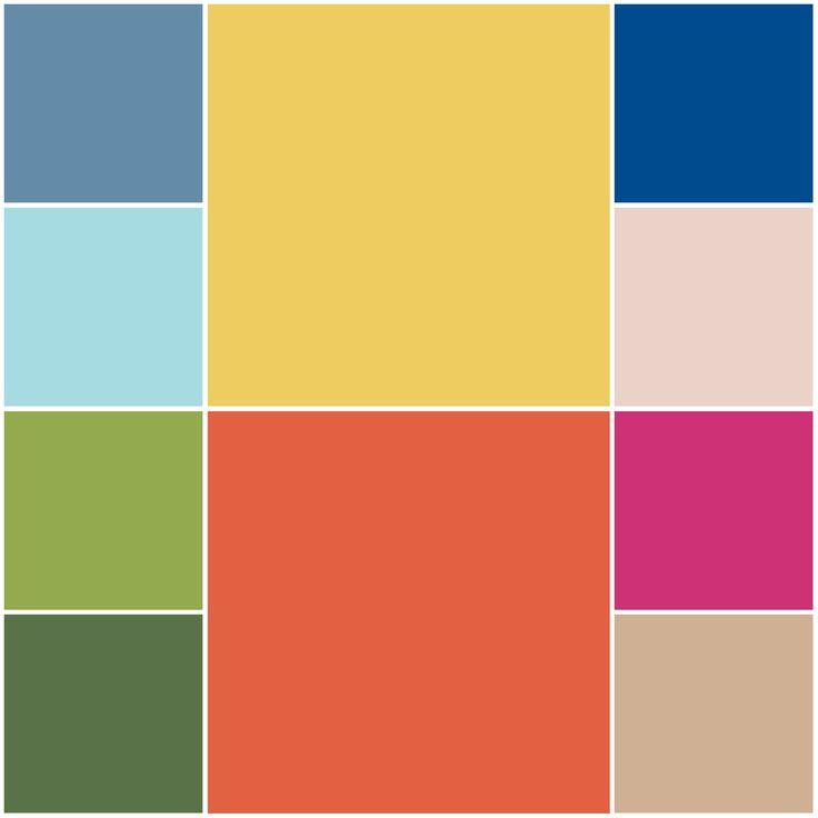 Top 10 Spring 2017 colours from Pantone | Hanami Dream