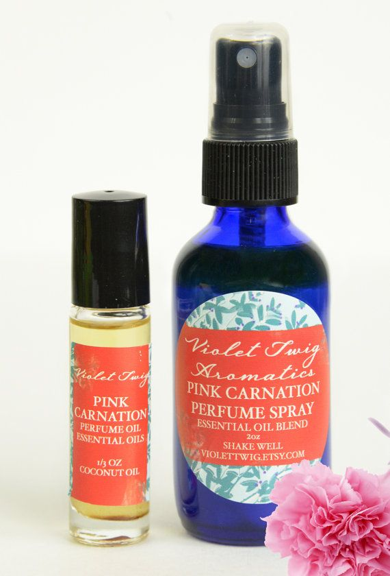 Carnation Perfume Natural Carnation by VioletTwigAromatics