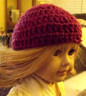 .: American Girl Beanie, crochet pattern @Laci Davis Davis Cheney I thought you might like this...haha!