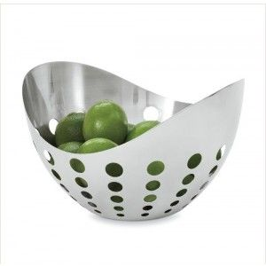 Dining Table Accessories Ziggy Fruit Bowl Modern Deceptively Deep