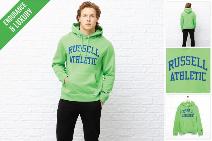 When it comes to Russell, we think everyone is green with envy.  www.russellathletic.co.za