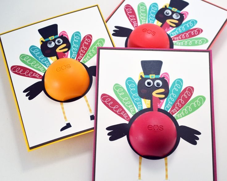 Turkey EOS Lip Balm Holder | One Crafty Corner                                                                                                                                                                                 More