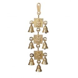 Get Online Laxmi Ganesh & Saraswati Wall Hanging with bell at Puja Shoppe.Product code - 000194. Product Price: Rs. 799. Stock Available. Delivered in 3-4 Business Day. Shop now: https://www.pujashoppe.com/brass-3-stage-laxmi-ganesh-saraswati-wall-hanging-with-bell.html?___SID=U