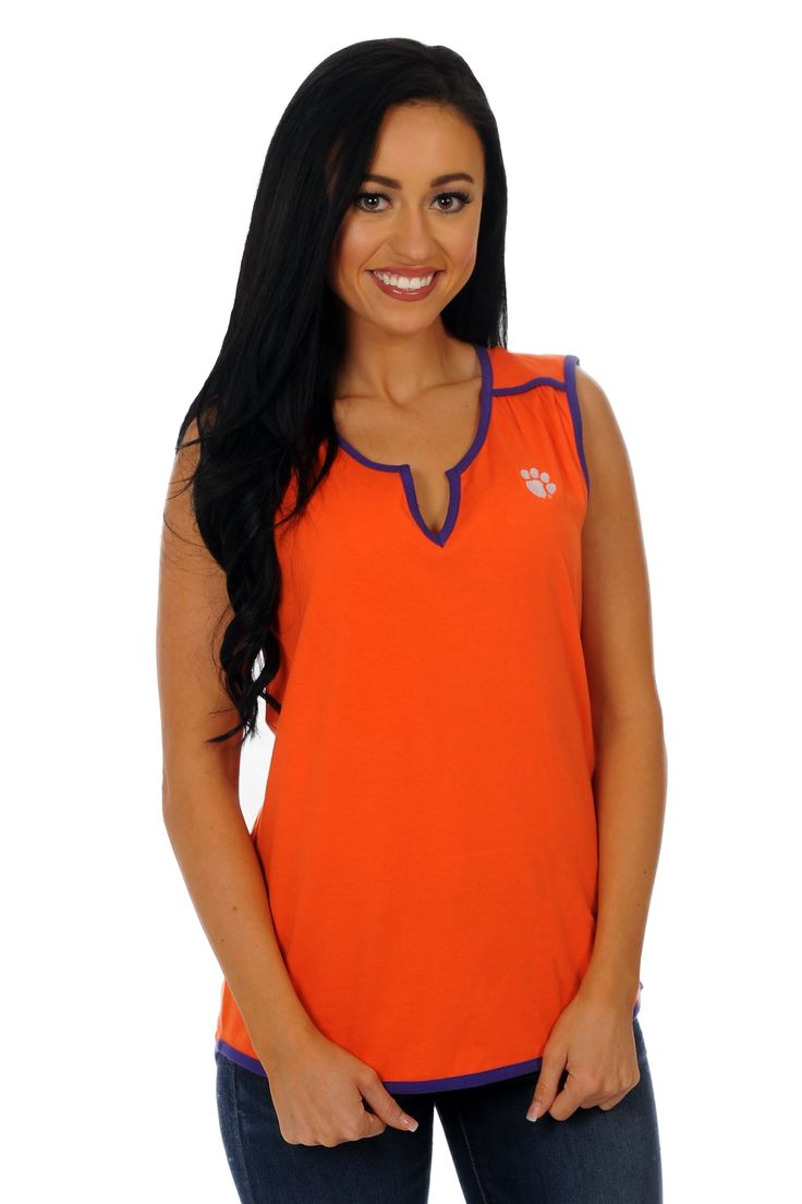Clemson Tigers Game Day Tunic Tank