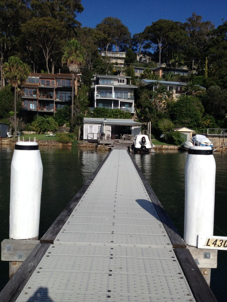 The cute boathouse we stayed in called The Boathouse on the Waterfront. Book through Stayz
