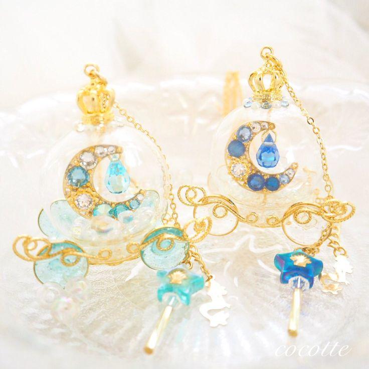 Lovely Blue Resin. ☺❤