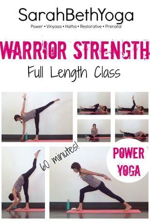 Watch 60 Minute Warrior Strength - Power Yoga Class Online | Vimeo On Demand