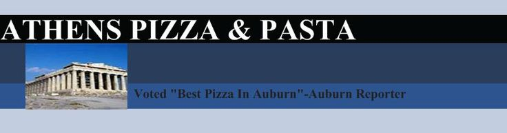 ATHENS PIZZA & PASTA - Auburn - Apparently this place has really good pizza!!