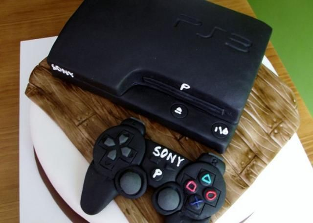 20 best Playstation cake, etc images on Pinterest Playstation - best of coloring page xbox controller