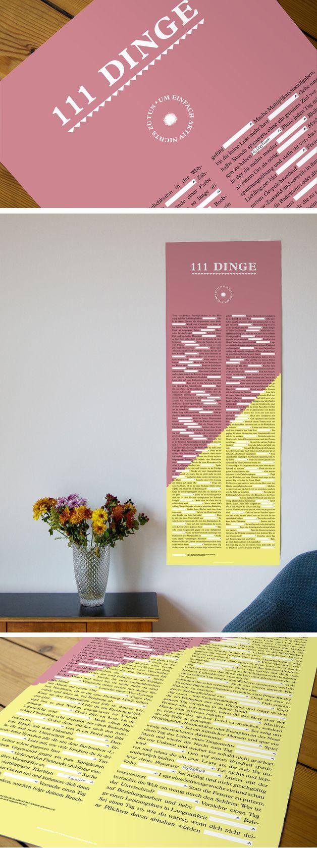 Inspiration zum Nichtstun – Poster  http://de.dawanda.com/product/60162739-Inspiration-zum-Nichtstun-Poster