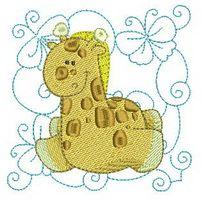 #Chubby #Giraffe #QuiltBlocks Get this design set for only $2.00! http://www.threadsnscissors.com/quiltblocks/2021-chubby-giraffe-quilt-blocks #embroidery #special #discount
