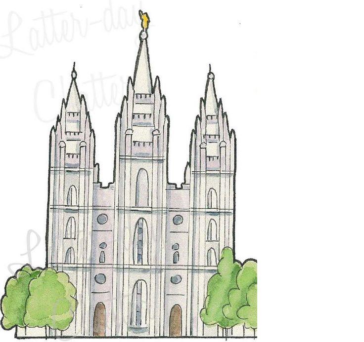 83 best clip art for primary sharing time images on pinterest lds rh pinterest com lds temple clipart images lds temple clipart download free