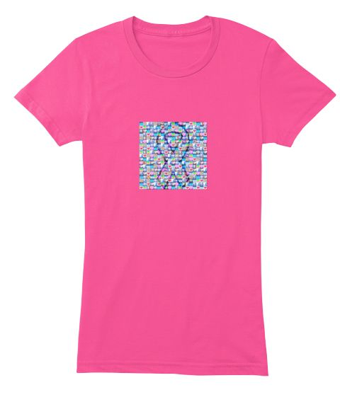 Avon Walk For Breast Cancer  Fuchsia Women's T-Shirt Front