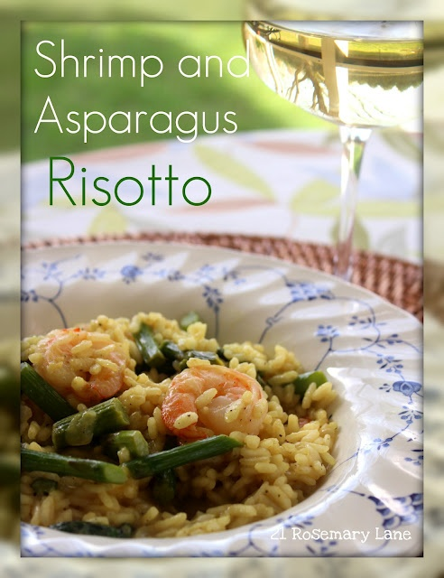 Shrimp and asparagus risotto | Food & Drinks | Pinterest