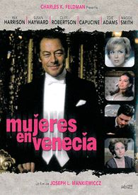 Mujeres en Venecia (1967) EEUU. Dir.: Joseph L. Mankiewicz. Comedia – DVD CINE 1856