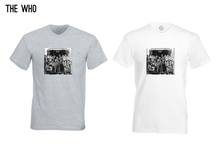 The Vintage T-Shirt Range - The who