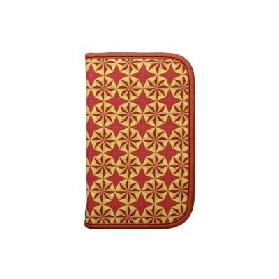 #planners #folios #zazzle #elenaindolfi Red and Golden Rickshaw Folio Organizers by elenaind