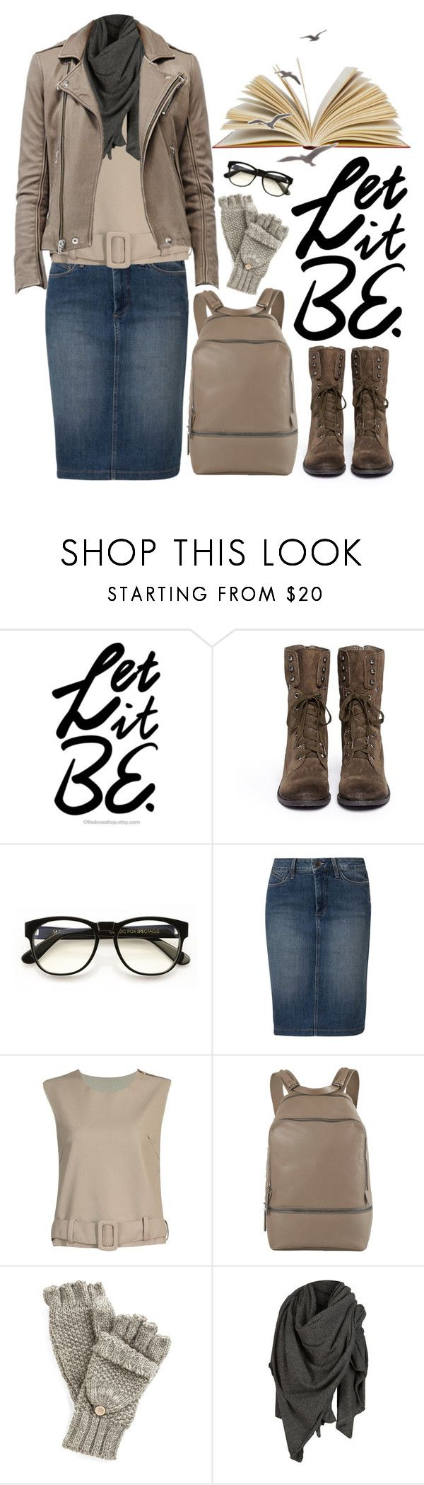"""""""Happy Friday"""" by crblackflag ❤ liked on Polyvore featuring Sam Edelman, Wildfox, NYDJ, 3.1 Phillip Lim, AllSaints, Boots, Tan, backpack and wildfoxglasses"""