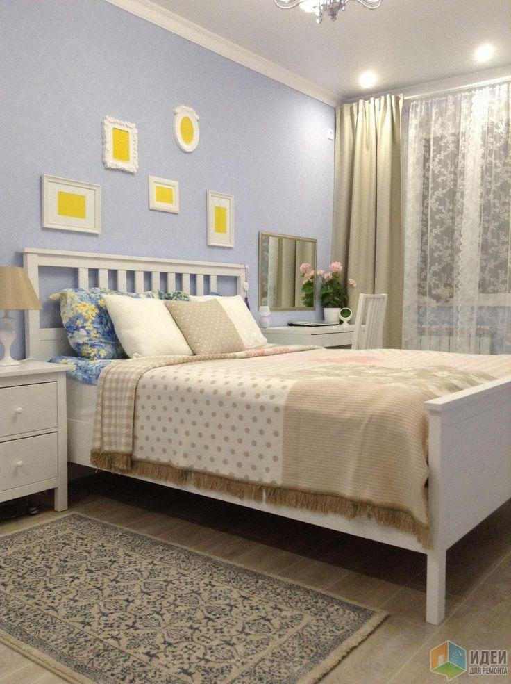 Намечтала:) Голубая спальня