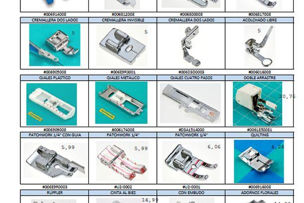 Aclarando dudas sobre los prensatelas especiales para las máquinas de coser