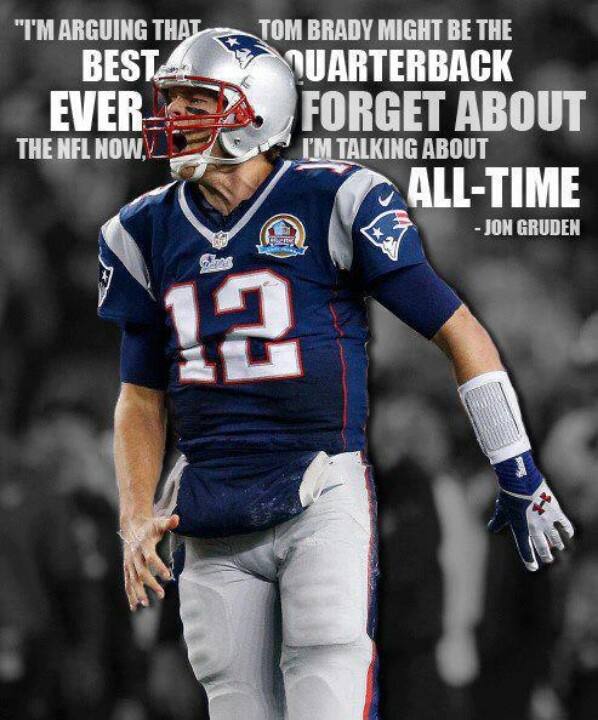 """Sitting in a bar, a week before the 2001 Superbowl, Bob Lobel reports that Tom Brady's ankle is healed enough that he WILL play. Tears came to my eyes. When my friend Joe asked me if I was okay, I replied, """"The Patriots are about to win their first Superbowl and Tom Brady is gonna be a Hall of Famer one day."""""""