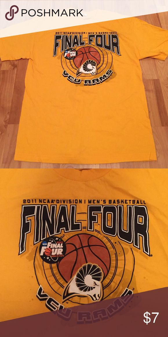 VCU Final Four Tee Shirt Brand new never worn VCU basketball final four Tshirt. Size M. Tops Tees - Short Sleeve
