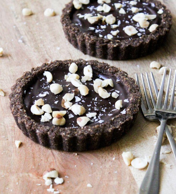 Chocolate Hazelnut Tart by @MaryAnne Wells Wells Cabrera