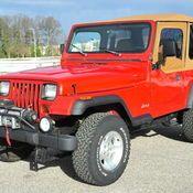 1994 jeep Wrangler YJ Built for sale: photos, technical specifications, description