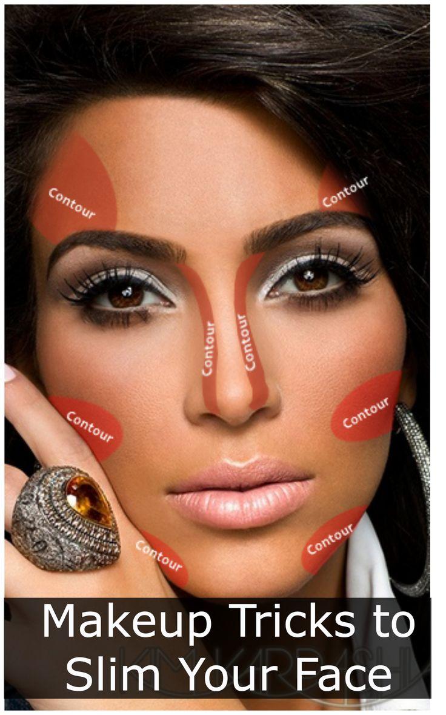 8 Makeup Tricks to Slim Your Face Photoshoot makeup