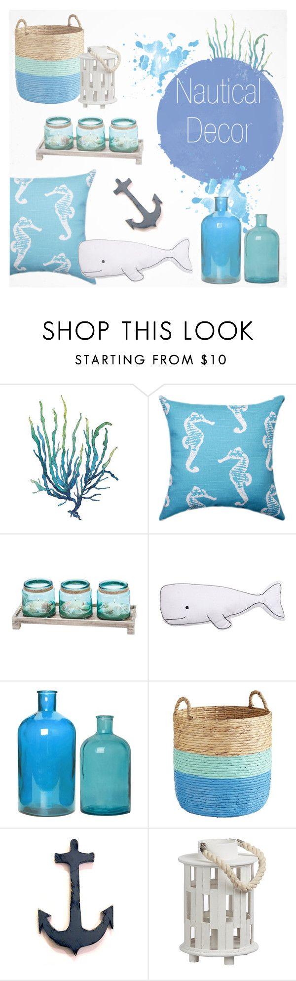 Nautical Decor By Southernpearldesigns Liked On Polyvore Featuring Interior Interiors