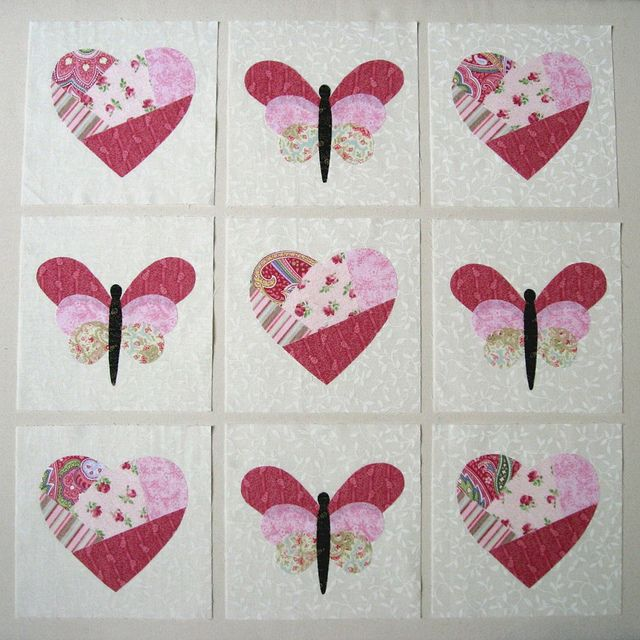 47 best Applique hearts and balloon images on Pinterest | Patterns ... : heart applique quilt patterns - Adamdwight.com