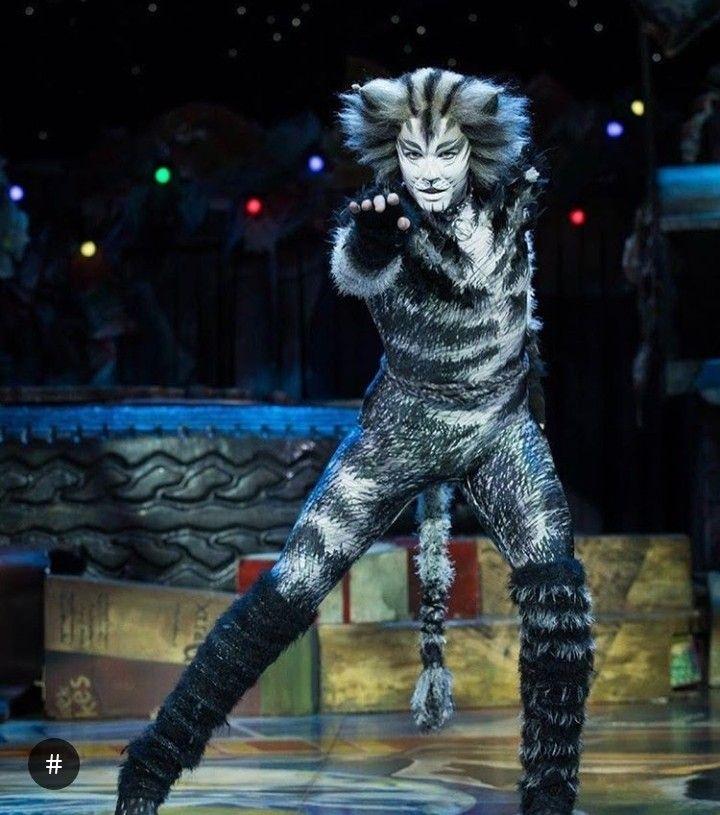 Adam Bailey Munkustrap South Korea Cats Musical Cats Broadway Musicals