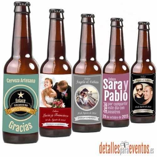 Personaliza tu cerveza y sorprende a los tuyos, botellas personalizadas con la mejor cerveza artesana y al mejor precio, venta exclusiva online