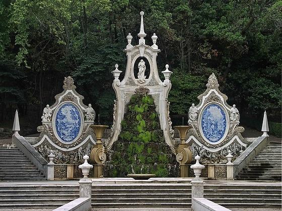 Mermaid's Garden (Jardim da Sereia), Coimbra, Portugal