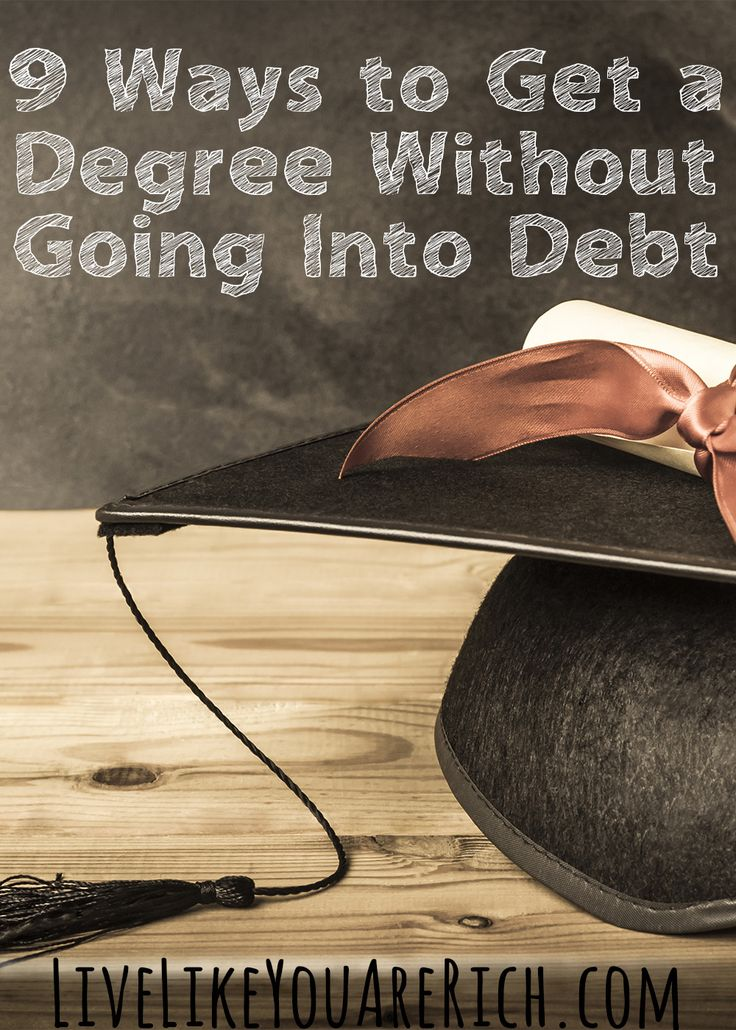 Even without assistance, it is possible to pay for school.  Excellent tips on earning a degree without going into debt.