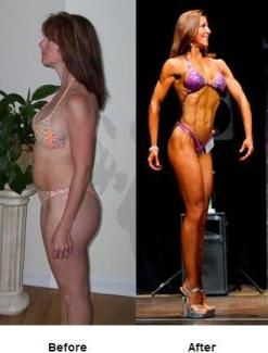 janey koltz trained for figure contest