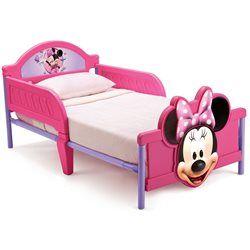 Lit Junior Minnie Mouse Disney DELTA - Lit enfant