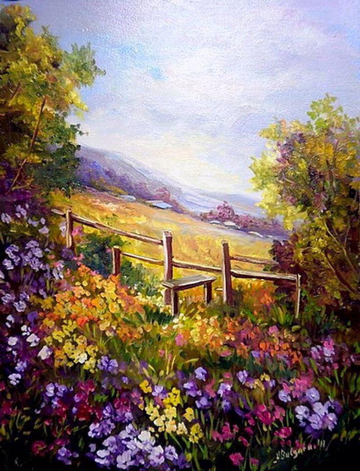 Tapestry Of Flowers ~ Anca Bulgaru